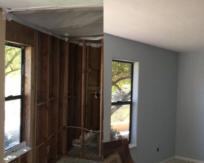 Repairs-Drywall, Stucco, Concrete and Roofing Replacement