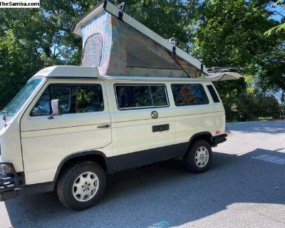 One of a kind 1988 Westfalia camper van