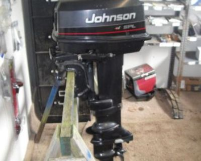 1996 Johnson 28 Spl Hp Outboard Motor (free Shipping To A Business Address)