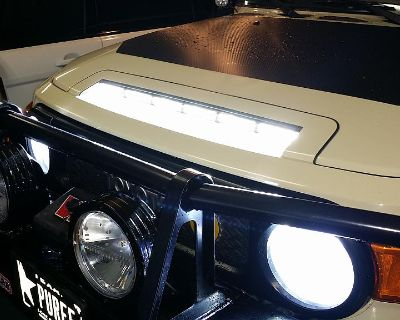 NOW AVAILABLE Hood Scoop Light Kit