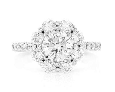Engagement Ring 14K 2.25ctw