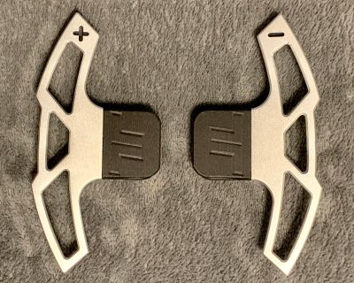 TMS Billet Silver Replacement Shifter Paddles