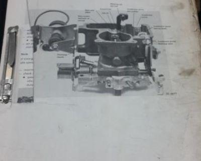 1980s Workshop Manual Supplement Binder