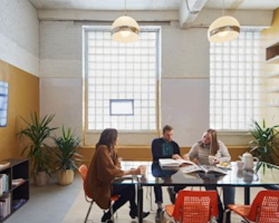 Private Meeting Room for 6 at Art/Work Coworking
