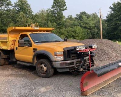 2009 FORD F550 Plow, Spreader Trucks Truck