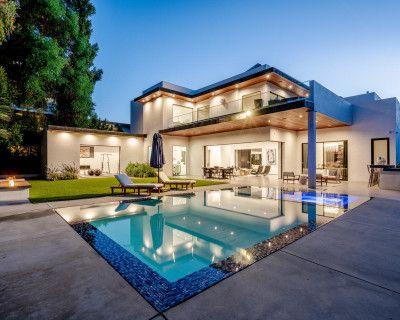 Encino Mansion with Complete Wrap around Balcony, Encino, CA