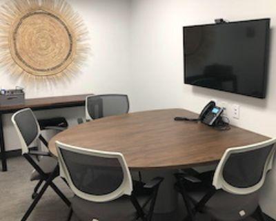 Private Meeting Room for 4 at Workbar Burlington
