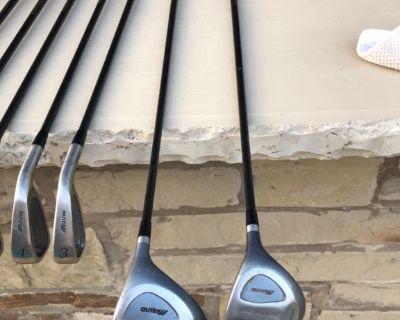 Mizuno Golf Irons & woods