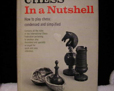 Chess book hard cover
