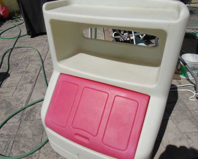 out door toy box (kids)no show you will be blocked