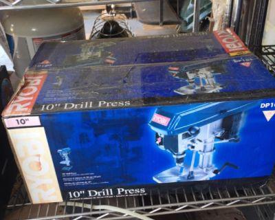 """10"""" Ryobi Drill Press new in the box"""