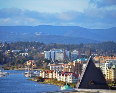 Sub-Penthouse19th Fl. S.W. Spectacular 180 Degree Ocean, Mountain & City Views - Downtown Victoria