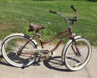 huffy cranbrook 24in women's cruiser bike