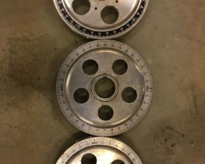 VW Engine Pulley Aluminum Wheels timing marks etc