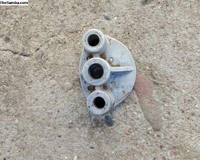 Fuel pump block off