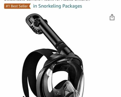 Full Face Snorkel Mask - new in package