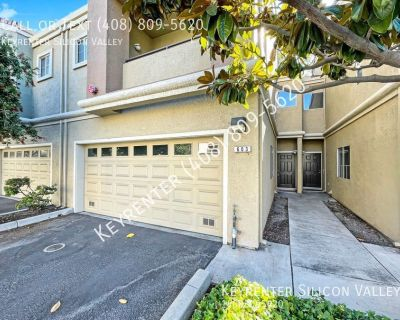 Sizeable 3-bed 2.5-bath San Jose rental townhome in a fantastic location!