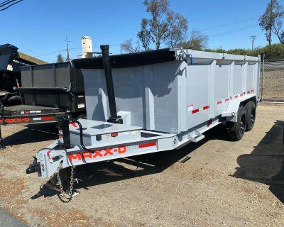 "2021 MAXX-D Trailers 16' x 83"" 16K Telescoping Dump Dump Trailers Acampo, CA"