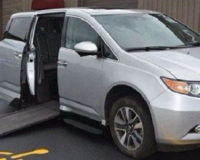2015 Honda Odyssey Touring Elite 28k miles *VMI* Mobility Wheelchair, Handicap Van $33500