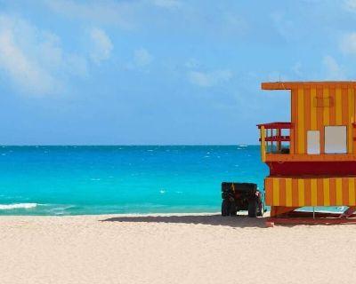 Rare Find! Three Design 2br/2bas, Private Beach, Pool, Gym, Tennis - Mid Beach