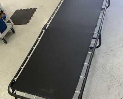 """Cot or could be a kids trampoline lol 12x31x75"""""""