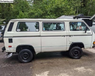 Vanagon Syncro Tin top with Sun roof, 2.5 subi