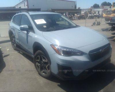 Salvage Light Blue 2019 Subaru Crosstrek