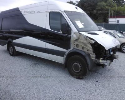 Salvage Black 2013 Mercedes-benz Sprinter Cargo Vans