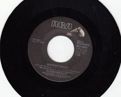 ELVIS PRESLEY ~ Wooden Heart*Mint-45s !
