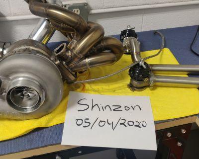 G42-1200 turbo kit, JMF manifold , magnus , kelford