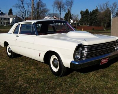 1966 FORD CUSTOM  COUPE 427 FACTORY R CODE RACE CAR