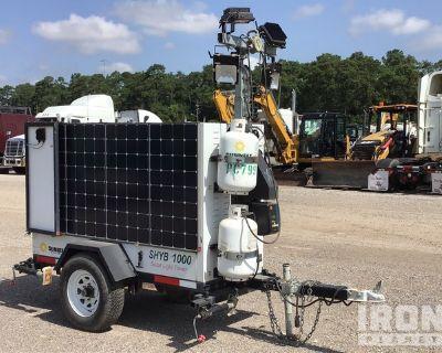 2015 Progress Solar Solutions SHYB1000 Solar Light Tower