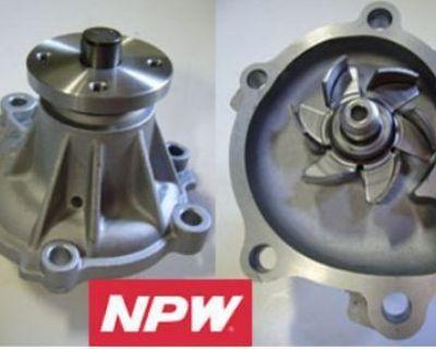 For 84-89 Toyota Van 2.0l 2.2l Water Pump Npw New