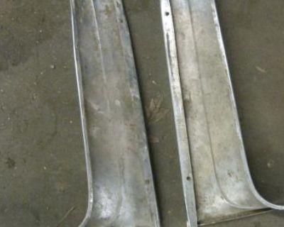 1955 1956 1957 Chevy Convertible Windshield Pillar Moldings 55 56 57 Orginal