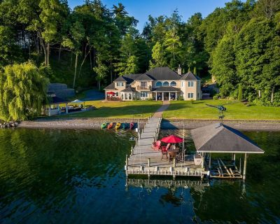 Dragonfly Landing: luxury private vacation home on the shores of Seneca Lake - Town of Torrey