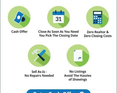 """$ WE BUY HOUSES-Fast """"Thinking Of Selling Your Home?"""""""