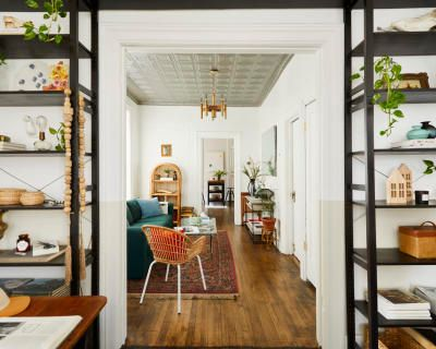 Airy Vintage Apartment Curated by a Prop Stylist, Chicago, IL