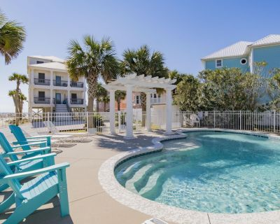 """Romar House at Beachside""Great Location-Gulf-Front Home-Private-Pool.Sleeps 21 - Orange Beach"