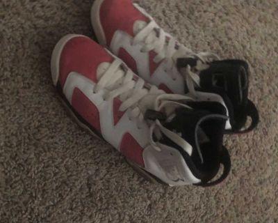 Pink Air Jordan 6 size 6