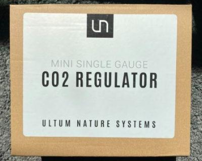 Ultum Nature Systems Mini Co2 Regulator + Paintball Tank, Adapter, Diffuser, Tubing, Brass Check Valve