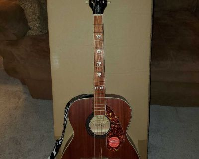 Fender Tim Armstrong acoustic/electric guitar