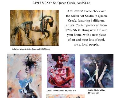 Incredible Art Event April 20th 6:pm - 9:pm