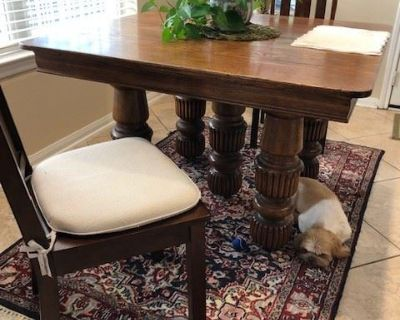 Blue Moon Estate Sale The Woodlands Creekside - Signed Art, vintage glassware, beautiful furniture!