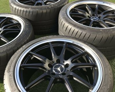 """19"""" 20"""" Mercedes AMG OEM Wheels & Tires (Willing to remove tires)"""