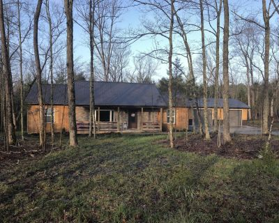 Newly Built Rustic 3 bedroom cabin with a one acre fishing lake! - Winchester