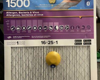 Filtrete furnace filter 16x25x1
