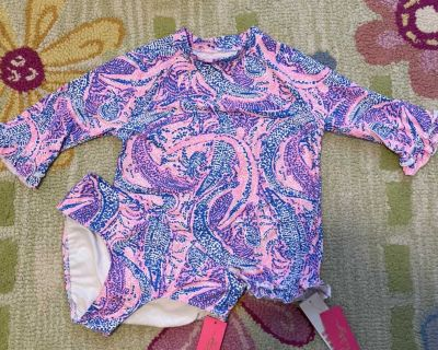 NWT Lilly Pulitzer sz 12 bathing suit $45