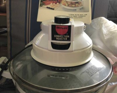 Convection oven complete with manual
