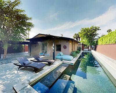 Movie Colony East Eden | Sprawling Zen Patio | Lap Pool, Hot Tub, Firepit - Palm Springs
