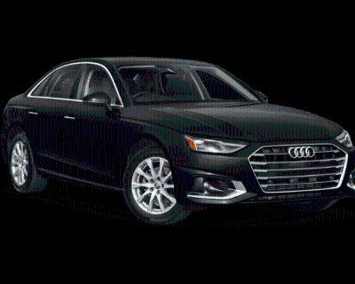 New 2021 Audi A4 quattro Sedan